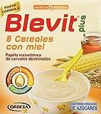 Blevit Plus 8 Cereales Miel, A Partir de Los 5 Meses, 600g