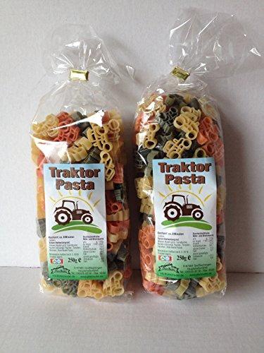 Motivnudeln Nudeln Pasta 2er Pack 250g Durum Hartweizengrieß (Traktor 2er Pack)