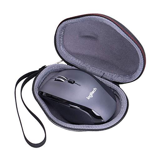 XANAD Hart Reise Tragen Tasche für Logitech Marathon M705 oder M720 Wireless Laptop Computer Mouse - Schutz Hülle