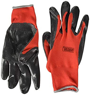 Grease Monkey General Purpose Nitrile Coated Work Gloves, Size Large - Pack of 15
