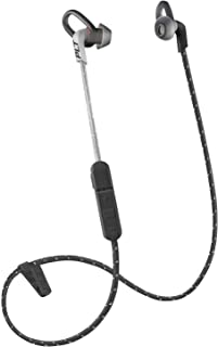 Plantronics BackBeat FIT 305 - Auriculares Deportivos Resistentes al Sudor, inalámbricos, Color Negro y Gris (Renewed)