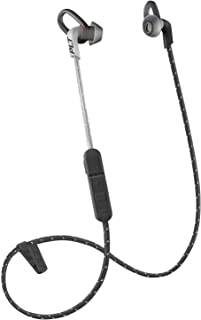 Plantronics BackBeat FIT 305 Sweatproof Sport Earbuds, Wireless Headphones, Black/Grey (Renewed)
