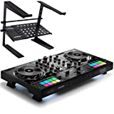 Hercules DJControl Inpulse 500 DJ Controller 2-Deck + keepdrum Laptopständer HALS-20