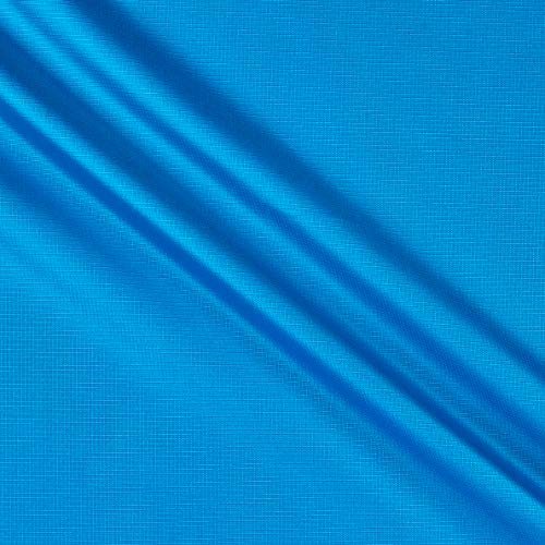 8.7 Oz Ottertex Polyurethane Coated Polyester Ripstop Turquiose, Fabric by the Yard