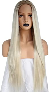 blonde ombre synthetic lace wig