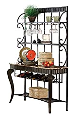 Best bakers rack for kitchen with wine storage 13 Kitchen Affairs