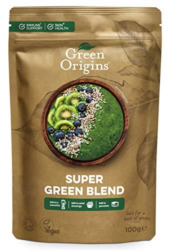 Green Origins Organic Super Green Blend Powder 100g