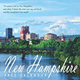 New Hampshire Calendar 2022: Gifts for Friends and Family with 12-month Monthly Calendar in 8.5x8.5 inch