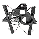 Power Window Regulator w/Motor Assembly & 2 Pin Rectangular Connector Driver Front Replacement for 03-06 Ford...