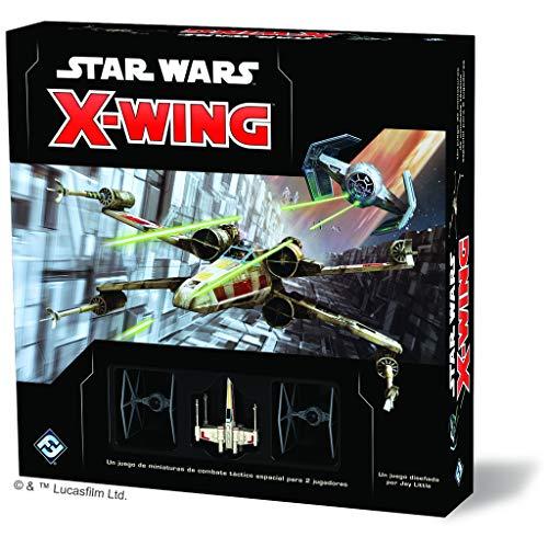 Fantasy Flight Games- Star Wars: X-Wing Segunda Edición - Español, Multicolor (SWZ01ES)