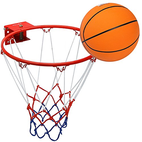 Pellor Aro de Baloncesto, Canasta Baloncesto Infantil Interior y Exterior con Baloncesto...