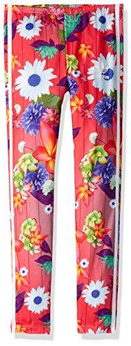 adidas Originals Big Girls' Originals Graphic Floral Print Leggings