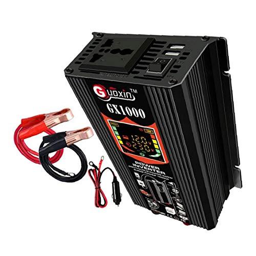 500W Power Inverter DC 12V a 110V AC coche adaptador de enchufe del inversor puro de distribución de energía de onda sinusoidal del convertidor de energía equipo de control