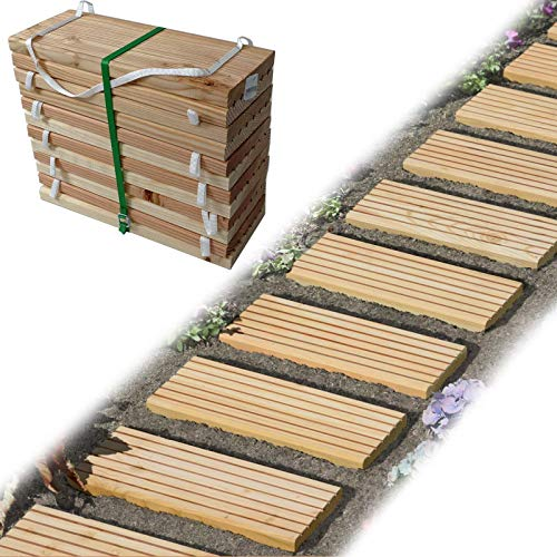 Gartenpirat -   Rollweg Holz 35x250
