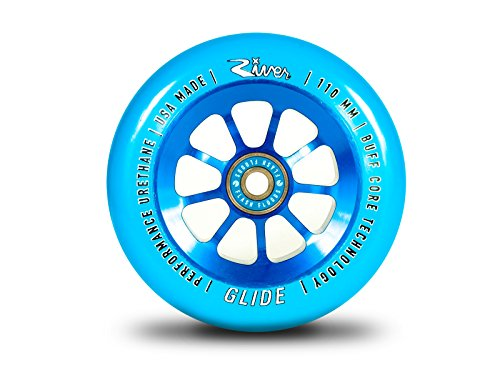 River Glide Wheel 110mm Blue (Pair)