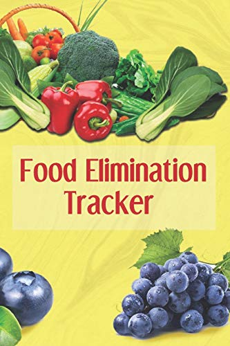 Food Elimination Tracker: 3 Month Food and Meal Tracking Logbook Including Snacks and Weekly Grocery