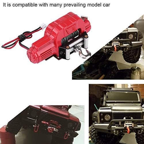 Dilwe RC 1/10 Crawler Winch, Funkfernbedienung Empfänger für Traxxas HSP Redcat RC4WD