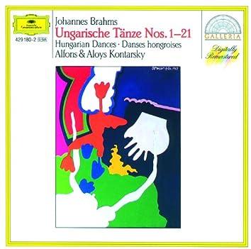 ブラ-ムス:4手のためのハンガリ-舞曲集