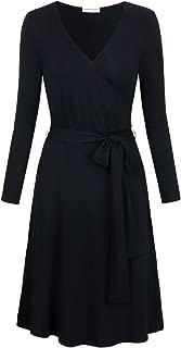 Best black wrap dress for work Reviews