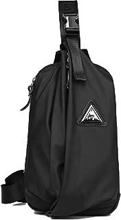 Kemy's Sling Bags Shoulder Bag Chest Pack Crossbody Bag Sling Backpack Nylon Waterproof Gym Travel Hiking Bag for Men