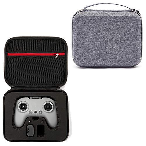 Flycoo2 - Funda protectora rígida antigolpes para dron DJI FPV, gafas V2, mando a distancia 2, controlador de movimiento, batería y accesorios, 24 x 19 x 9 cm (con espuma negra)