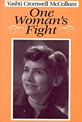 Book cover: One Woman's Fight by Vashti McCollum