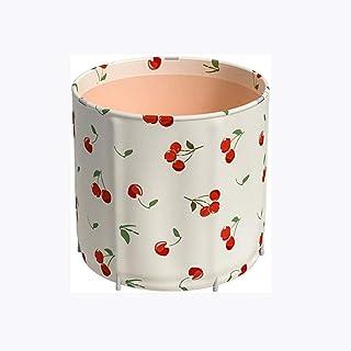 CCDDP Modern Bathtub - Portable Bathtub Household Foldable Full Body Bath Barrel Thickened Adult Children Bathtub Thickened Insulation Barrel