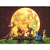 5D DIY Marvel Super Hero Full Diamond Embroidery Cross Stitch Round Diamond Painting Art Crafts/Canvas Wall Decoration-Winnie The Pooh 12X16 inches