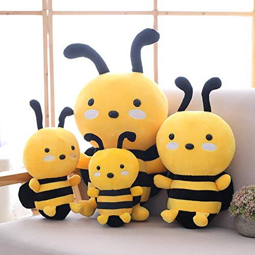 CPFYZH Honig Süße Tierpuppe Weiches Plüschtier Schlafen Baby Geburtstagsgeschenk Mädchen Dekoration Insekt Beschwichtigen 20Cm