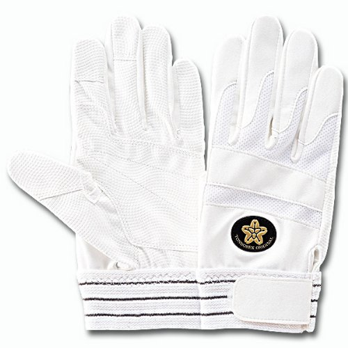 トンボレックス レスキュー消防団専用合皮手袋 (E-843WD) ホワイト Lサイズ
