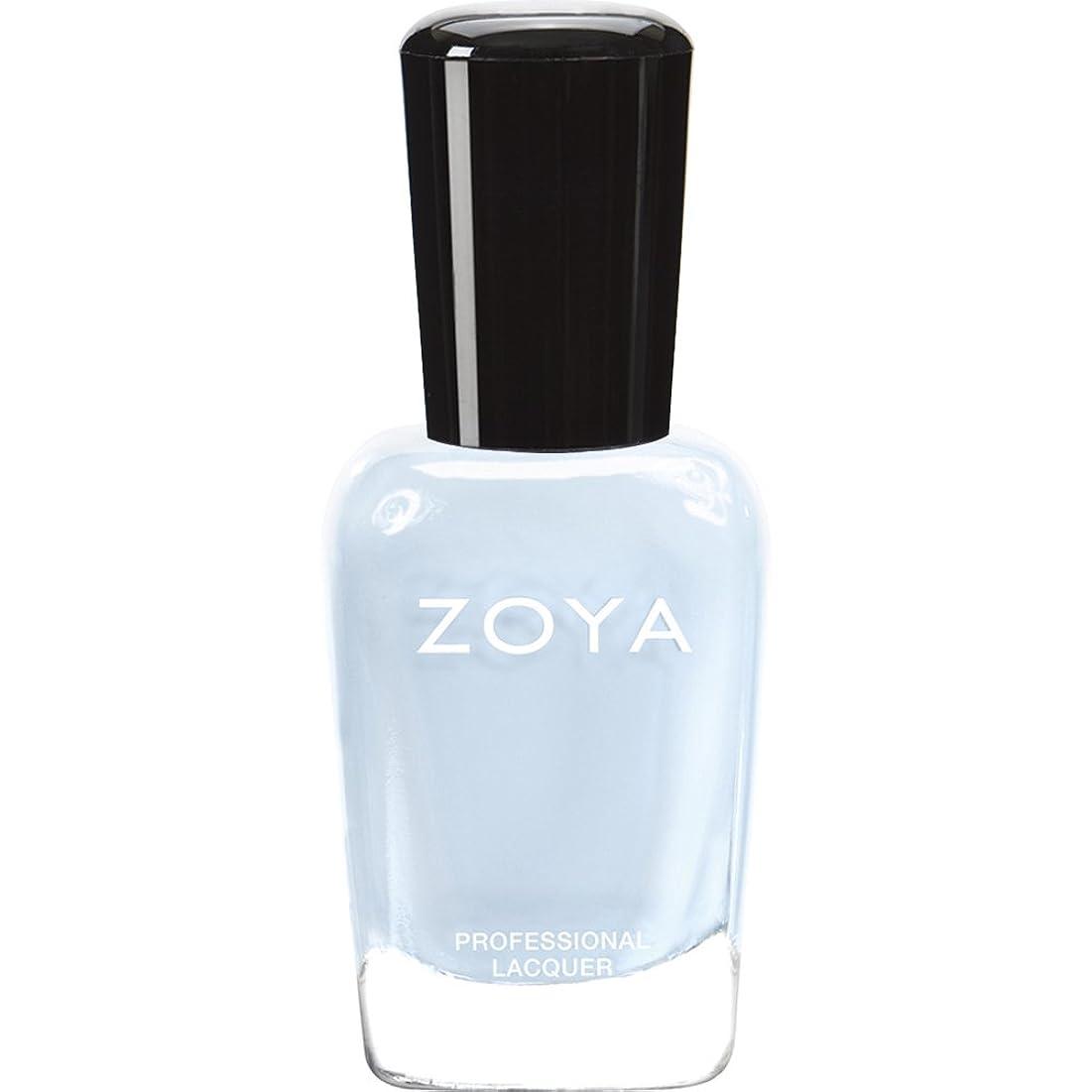 マークダーツ社会学ZOYA ゾーヤ ネイルカラー ZP653 BLU ブルー 15ml  2012 LOVELY COLLECTION 光沢のある淡いベビーブルー マット 爪にやさしいネイルラッカーマニキュア