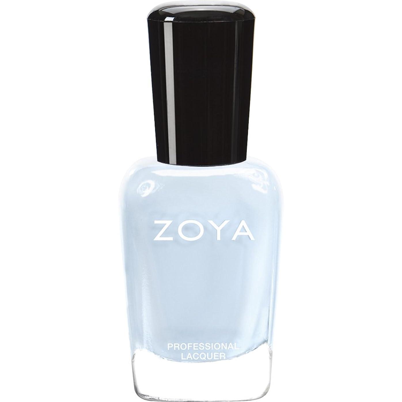 メロンコーヒー流産ZOYA ゾーヤ ネイルカラー ZP653 BLU ブルー 15ml  2012 LOVELY COLLECTION 光沢のある淡いベビーブルー マット 爪にやさしいネイルラッカーマニキュア
