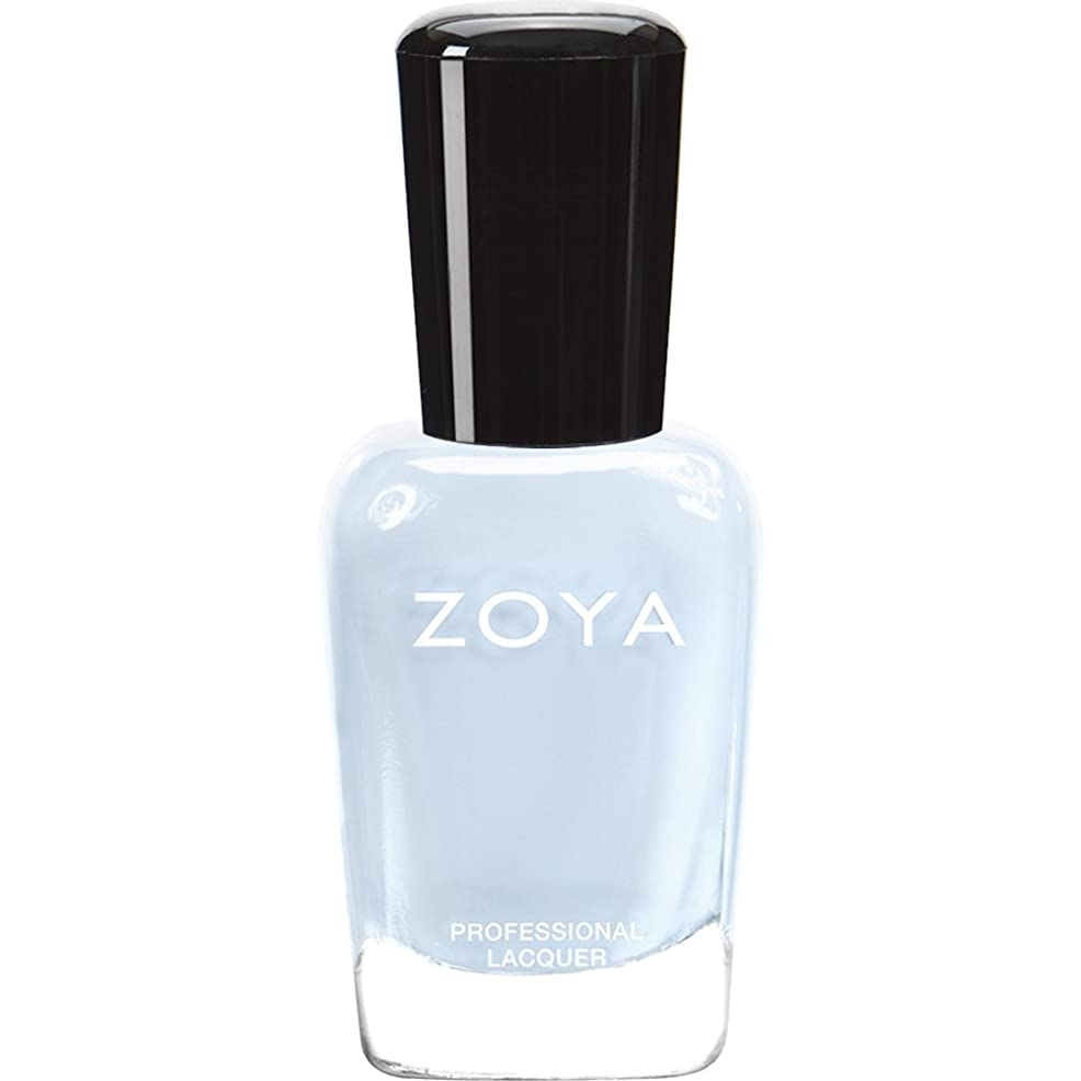 コミュニティ添加暗いZOYA ゾーヤ ネイルカラー ZP653 BLU ブルー 15ml  2012 LOVELY COLLECTION 光沢のある淡いベビーブルー マット 爪にやさしいネイルラッカーマニキュア