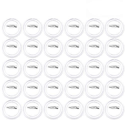Button badge acryl design button pin badge kit voor knutselbenodigdheden of acryl DIY badge zelf maken buttons badge. Verpakking van 30 stuks.