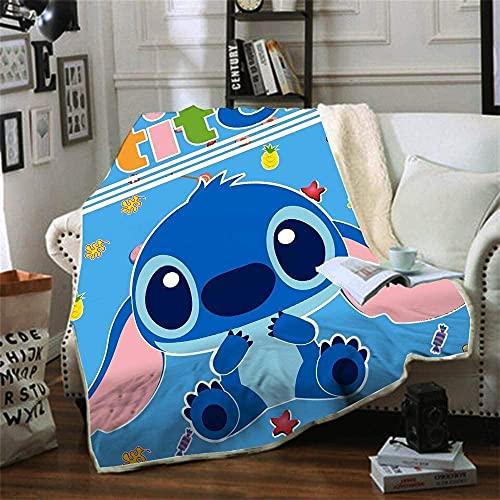 Proxiceen Manta de franela para niños y adultos, manta de sofá, hermosa impresión digital 3D, manta de franela (A 02,130 cm x 150 cm)