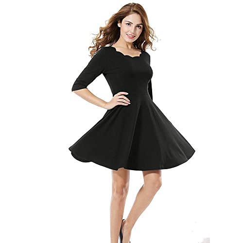 5643880e38 Black Dress: Buy Black Dress Online at Best Prices in India - Amazon.in