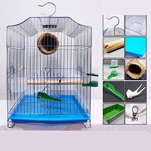 Pet Supplies Plaqué Cage Oiseau Voyage, Grand Cage de Transport for Les Petits Animaux d'élevage Boîtes for Hérisson, Guinée Porc, écureuil. Animalerie (Color : C, Size : 33 * 31 * 44CM)