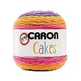 Caron Cakes Self Striping Yarn 383 yd 200 g (Funfetti)