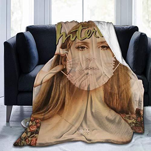 La-na del re-y álbumes barrocos jóvenes y bellos costeros coast mantas ligeras súper suaves y mullidas sofá de 127 x 101 cm