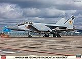 Hasegawa-1/72 Mikoyan 31B Foxhound Kasachische Luftwaffe Maqueta de plástico. (602336)