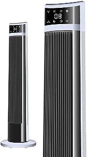 Refrigerador del Aire Acondicionado - Ventilador De La Torre, Control Remoto Sacudir La Cabeza,3 Torre Velocidad Tipo De Ventilador con Función De Temporización 12H, Casa Vertical De Suelo Ventilador
