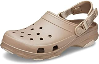 Crocs Classic All Terrain Clog, Men's Beach & Pool, Brown (Khaki), M9/W10 UK (43-44 EU)