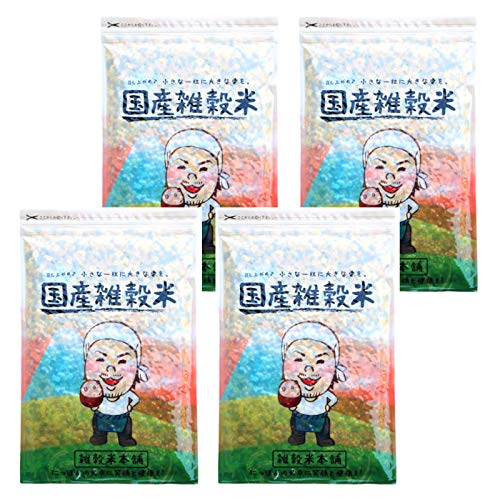 雑穀 雑穀米 国産 栄養満点23穀米 2kg(500g×4袋) 国内産 もち麦 黒米 送料無料※一部地域を除く雑穀米本舗