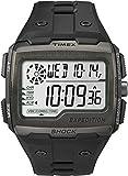 Timex Grid Shock - Reloj digital para Hombre con correa de resina, color Negro/LCD