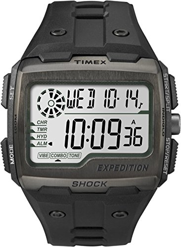 Timex TW4B02500 Orologio da Polso al Quarzo, Analogico Digitale, Unisex, Nero
