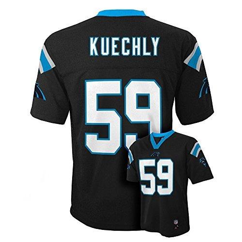 Outerstuff Luke Kuechly  59 Carolina Panthers NFL Youth Mid-tier Jersey  Black (Youth c635847e5