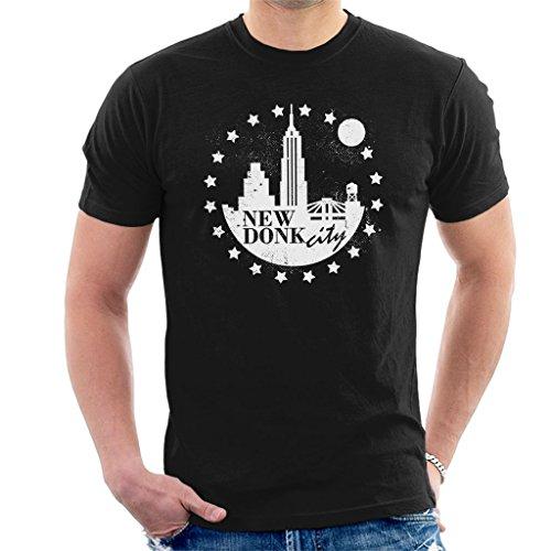 New Donk City Donkey Kong Men's T-Shirt Black