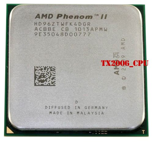 AMD Phenom II X4 960t 3 GHz Quad-Core Procesador de Escritorio CPU Socket AM2 + AM3 938-pin