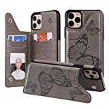 SUMOON iPhone 11 Pro Max Flip Case for Boy/Girl,Back Wallet