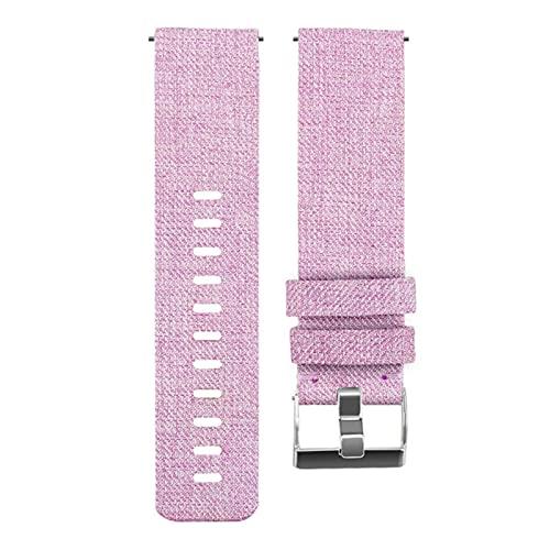 Correa de nailon de 18mm para reloj inteligente Xiaomi, correa de reloj deportiva de lona, reemplazo de pulsera para mi reloj inteligente, accesorios de pulsera